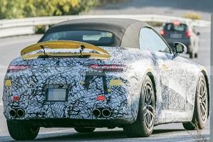 提供两种插混动力系统 梅赛德斯-AMG SL插混版实车照片首曝