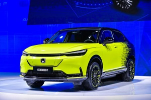 彰显全面电动化的态度和决心 东风Honda e:NS1亮相武汉车展