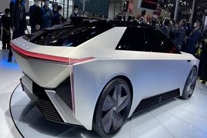 未来都会量产 本田e:N Coupe concept概念车武汉车展首发